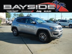 New 2019 Jeep Compass LATITUDE FWD Sport Utility 3C4NJCBB8KT615095 near Biloxi, MS