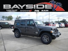 New 2018 Jeep Wrangler UNLIMITED SPORT S 4X4 Sport Utility 1C4HJXDG5JW319845 near Biloxi, MS