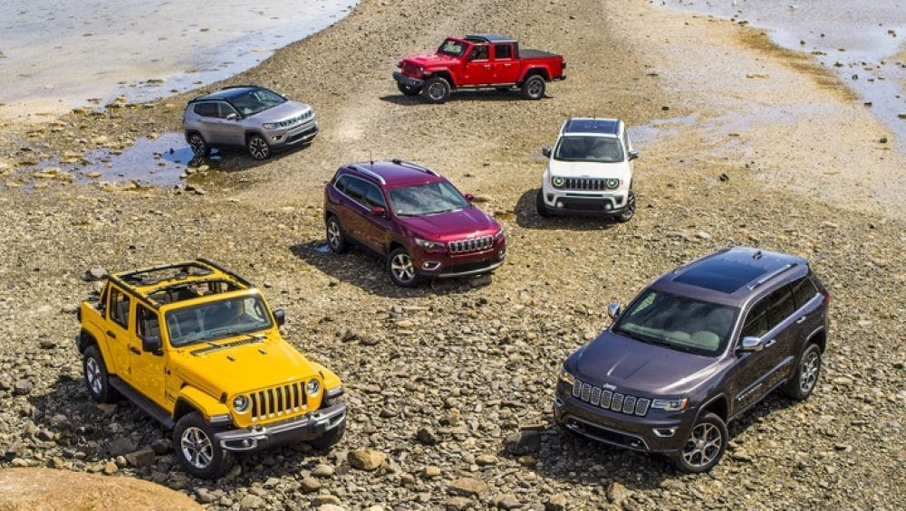 New Jeep Lineup