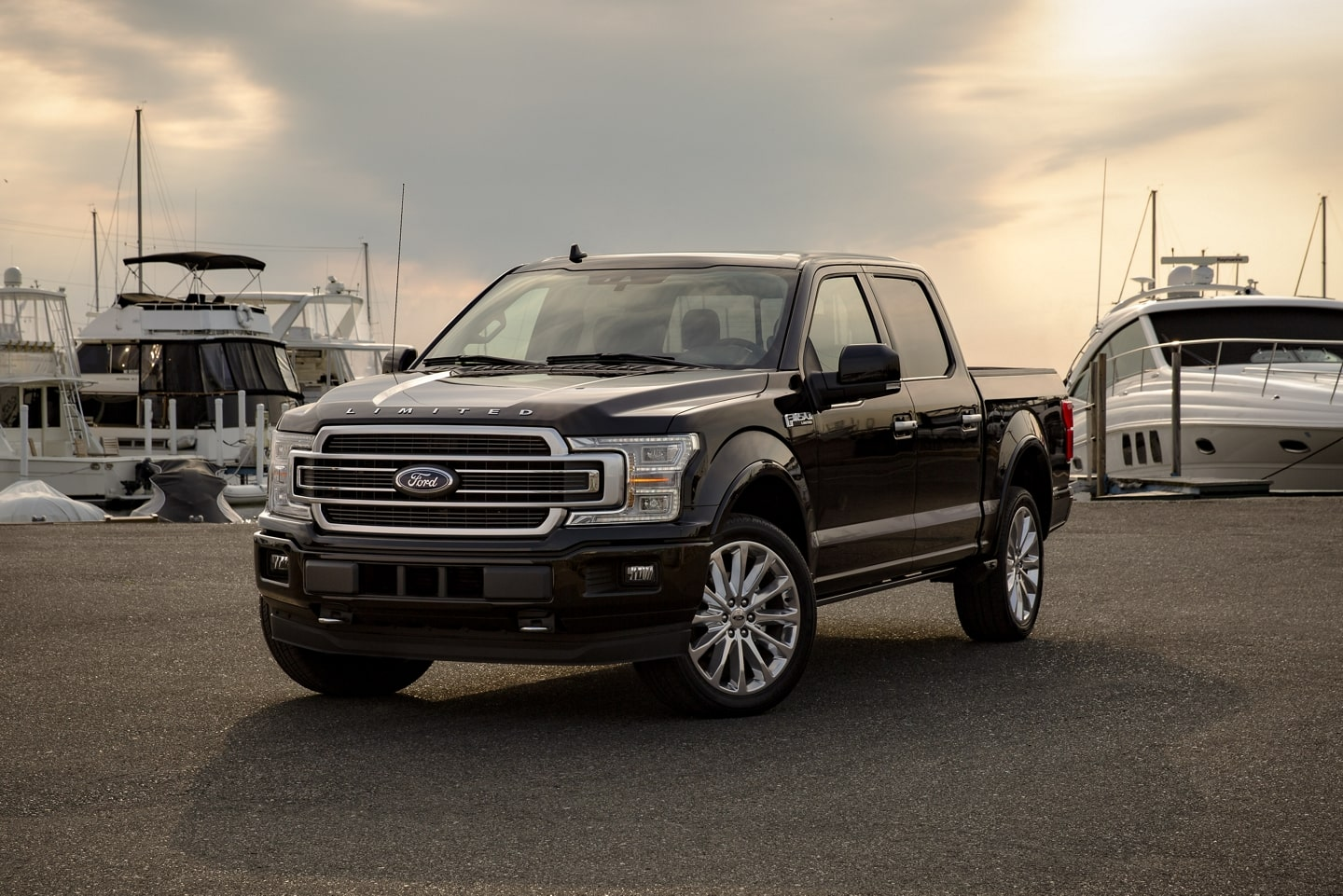 2020 Ford F-150 Limited in Agate Black