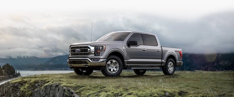 2021 Ford F-150 Exterior Profile