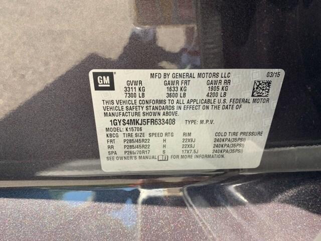 Escalade Luxury in Dark Granite - Stock #633408