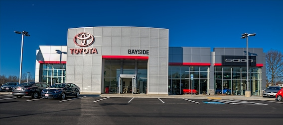 BMW Bayside Service >> Bayside Toyota New Toyota Vehicles In Prince Frederick