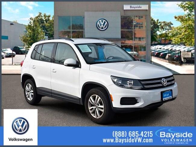2016 Volkswagen Tiguan 4MOTION  Auto SE Sport Utility