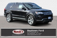 Certified 2018 Ford Explorer Limited SUV near Houston