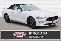 Certified 2019 Ford Mustang Ecoboost Premium  Convertible Convertible near Houston