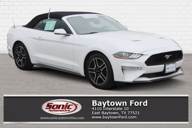 2019 Ford Mustang Ecoboost Premium  Convertible Convertible Baytown