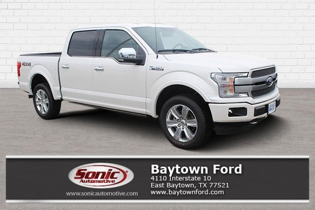 New 2019 Ford F-150 Platinum Truck Baytown