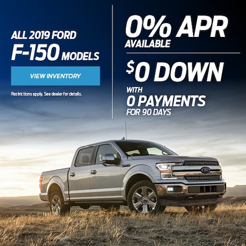 All 2019 Ford F-150 Models