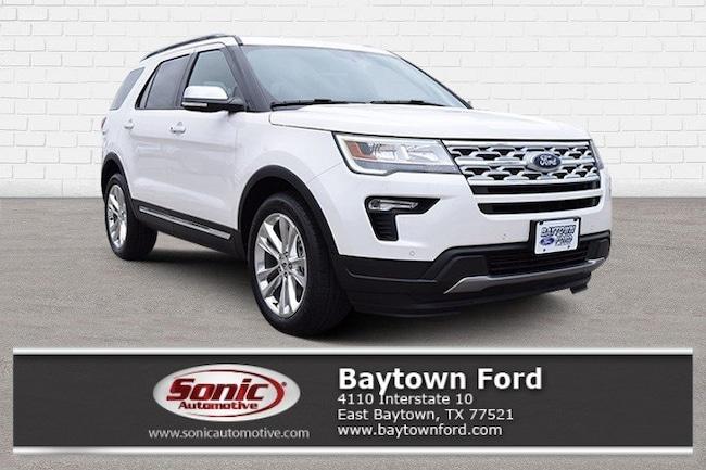 New 2019 Ford Explorer XLT SUV Baytown