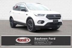 New 2018 Ford Escape SEL SUV serving Houston