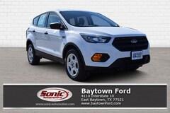 New 2019 Ford Escape S SUV serving Houston