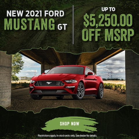New 2021 Ford Mustang GT