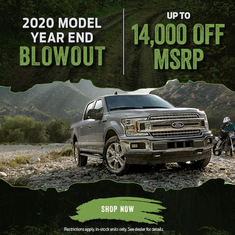 2020 Model Year End Blowout