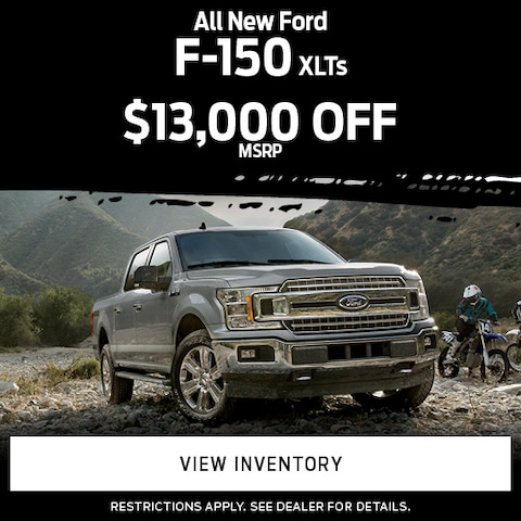 All New Ford F-150 XLTs