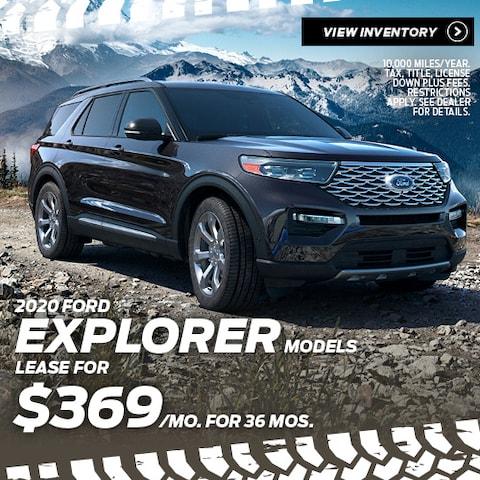 2020 Ford Explorer Models