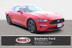 New 2019 Ford Mustang EcoBoost Premium Coupe for sale in Baytown