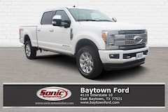 New 2019 Ford Superduty Platinum Truck serving Houston