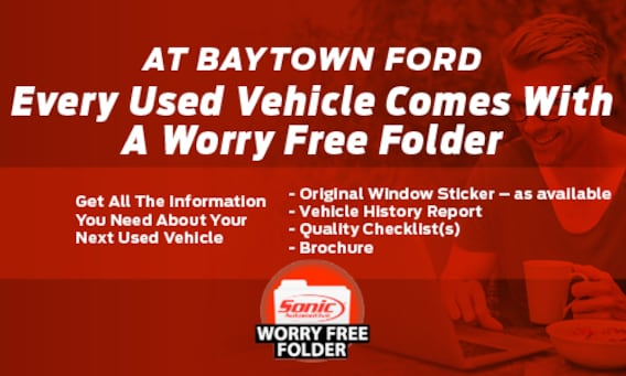 Used Cars for Sale in Baytown | Baytown Ford