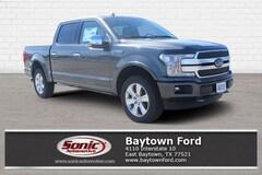 New 2018 Ford F-150 Platinum Truck serving Houston