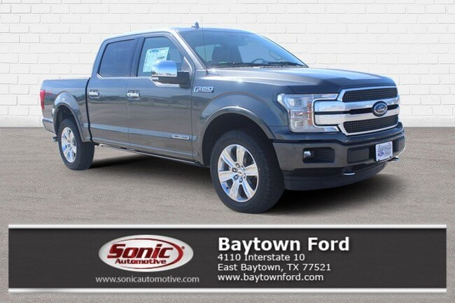 New 2018 Ford F-150 Platinum Truck Baytown