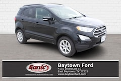 New 2018 Ford EcoSport SE Crossover serving Houston