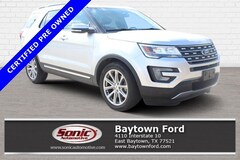 Used 2017 Ford Explorer Limited SUV serving Houston