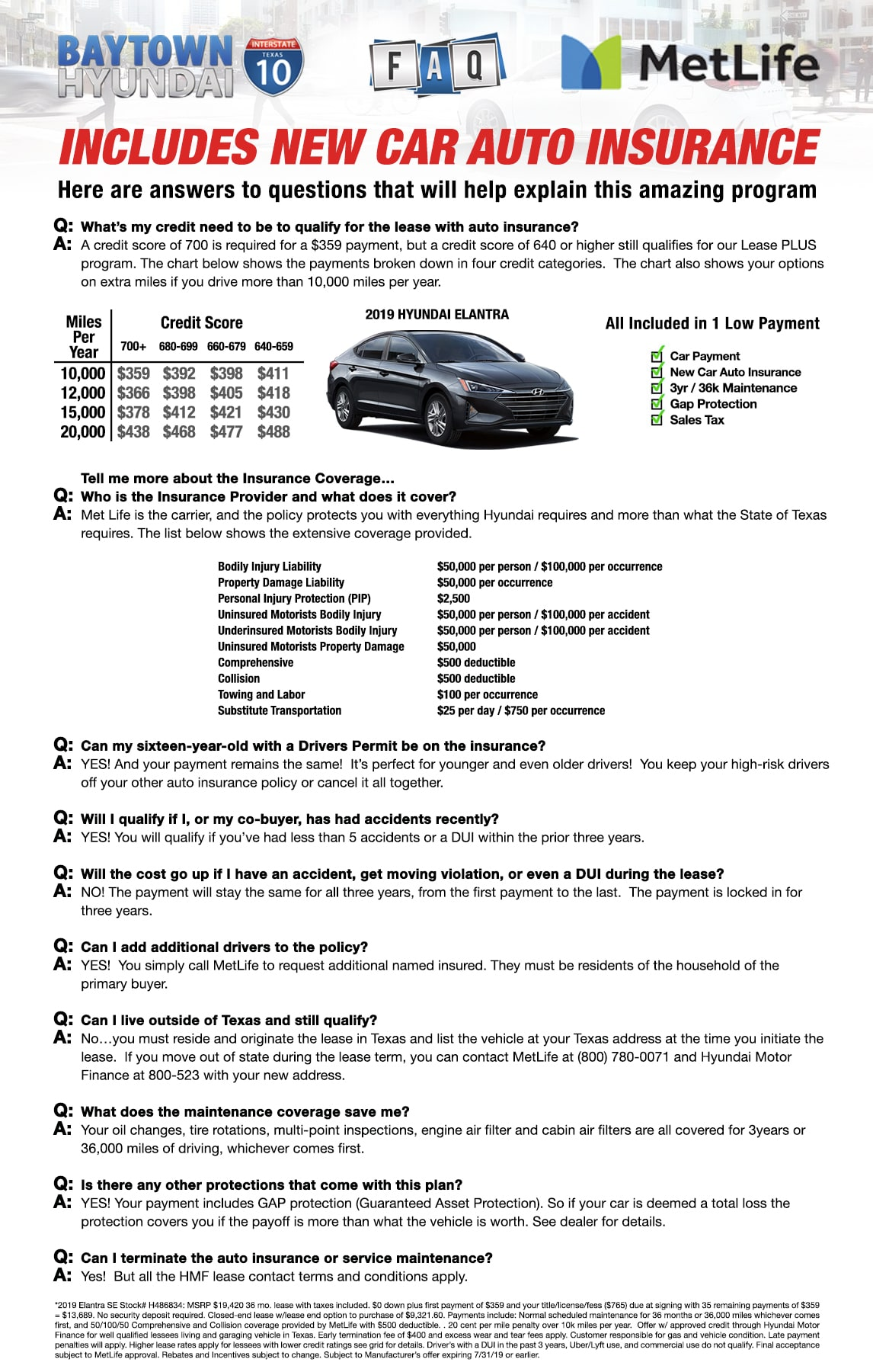 Lease Bundle Elantra Faq Baytown Hyundai
