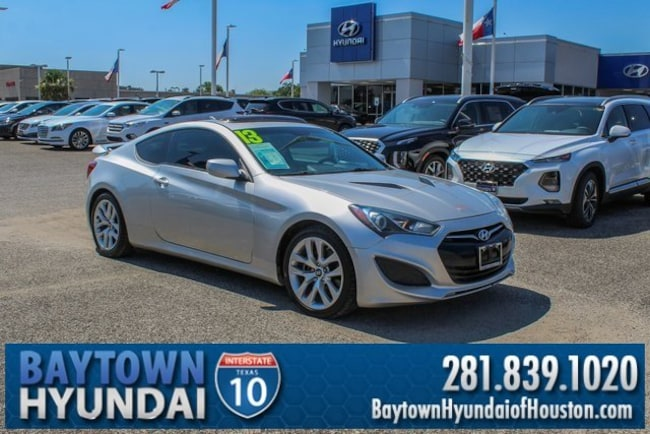 Genesis Coupe For Sale >> Used 2013 Hyundai Genesis Coupe For Sale At Baytown Hyundai