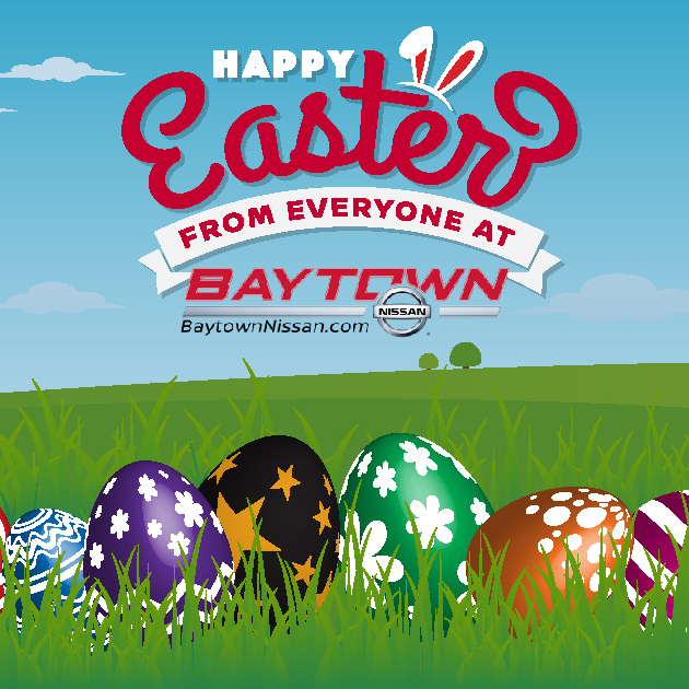 Happy Easter from Baytown Nissan