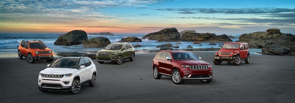 New Jeep SUV Lineup