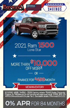 2021 Ram 1500 Lone Star