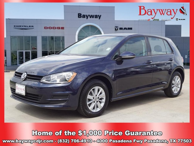 2016 Volkswagen Golf 1.8T S Pzev 1.8T S PZEV  Hatchback 6A w/Sunroof