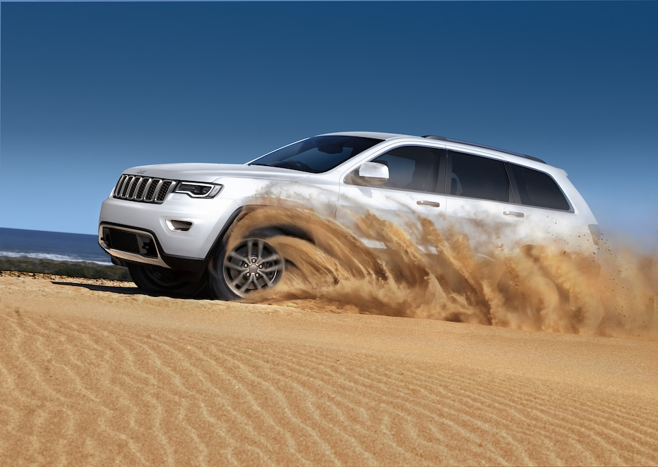 2019 Jeep Driving in Sand