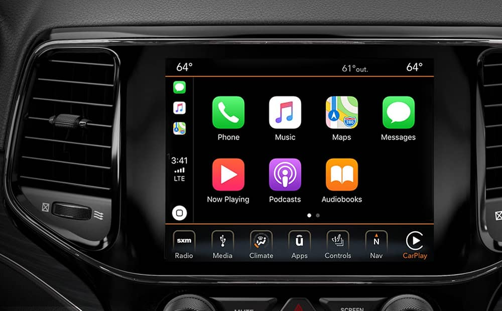 2019 Jeep Grand Cherokee Apple Carplay