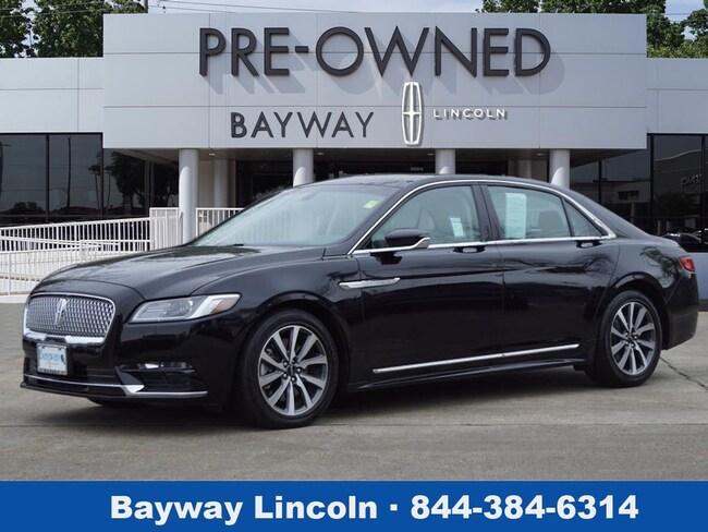2017 Lincoln Continental 4D Sedan FWD Premiere  Sedan