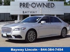 2017 Lincoln Continental 4D Sedan FWD Select  Sedan