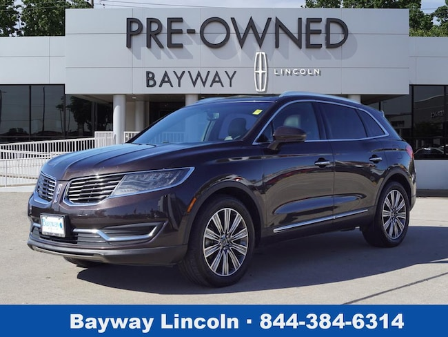 2016 Lincoln MKX 4D SUV AWD AWD Black Label  SUV