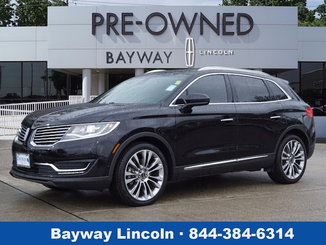 Used 2016 Lincoln Mkx For Sale At Bayway Lincoln Vin