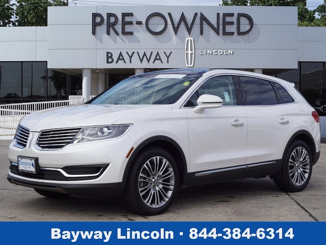 2016 Lincoln MKX 4D SUV AWD AWD Reserve  SUV