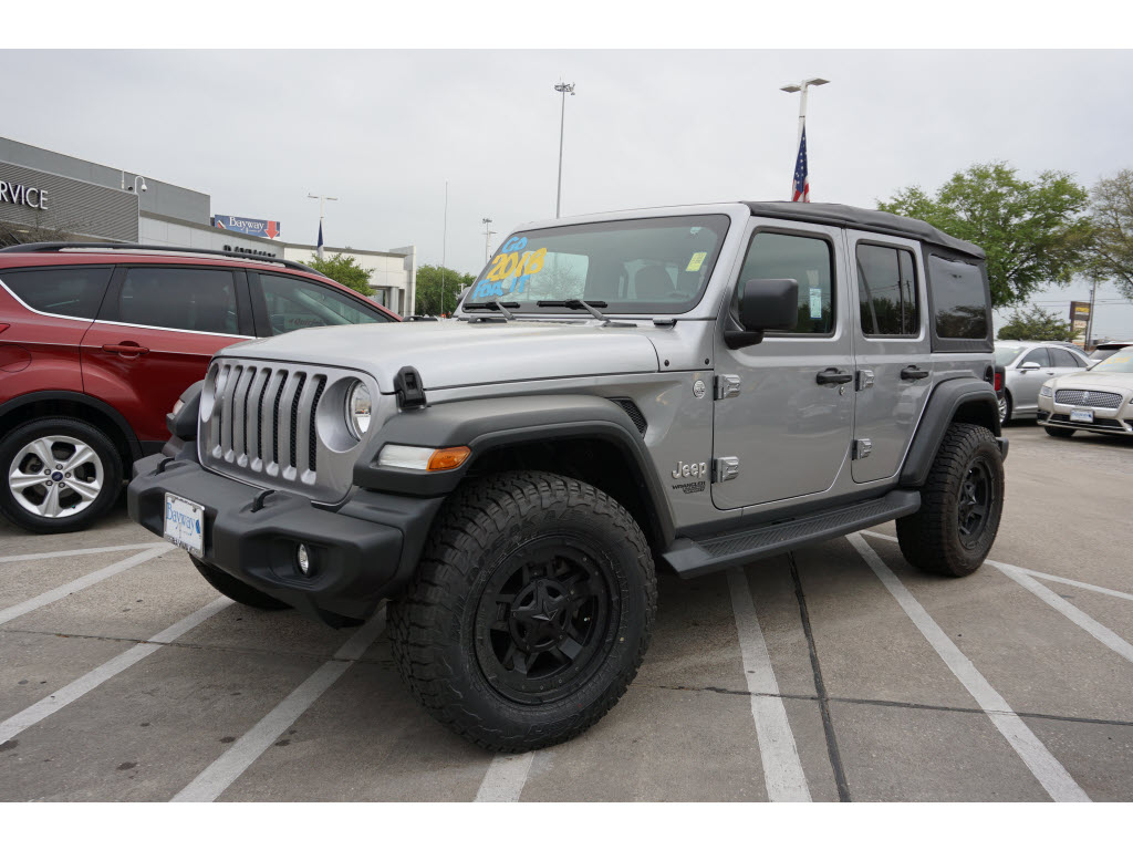 2018 Jeep Wrangler Unlimited 4D SUV 4WD 4x4 Sport  SUV (midyear release)