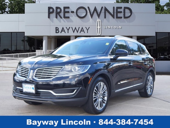2017 Lincoln MKX 4D SUV FWD Reserve  SUV
