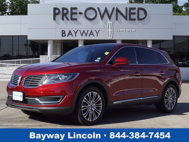 2016 Lincoln MKX 4D SUV FWD Reserve  SUV