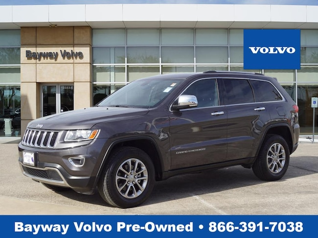 Used 2015 Jeep Grand Cherokee Limited 4x2 SUV in Houston TX