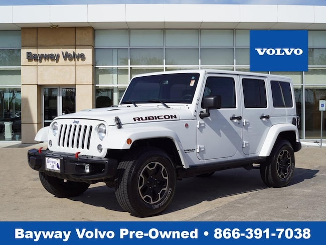 Used 2016 Jeep Wrangler JK Unlimited Rubicon 4x4 SUV in Houston TX