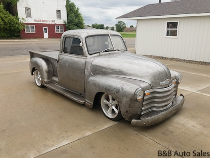 B And B Auto Sales >> Used 1950 Chevrolet 3100 For Sale At B B Auto Sales Vin