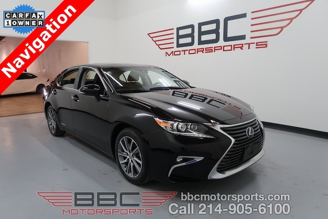 2016 LEXUS ES 300h Luxury Sedan