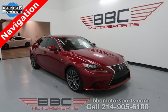 2015 LEXUS IS 350 F Sport Sedan