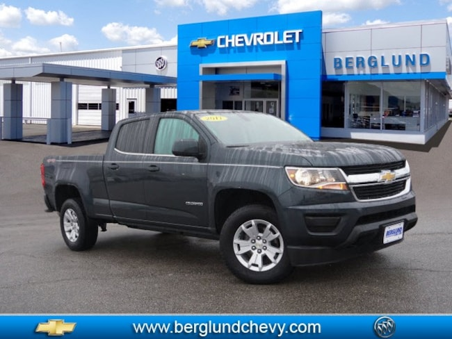2017 Chevrolet Colorado LT 4x4 LT  Crew Cab 5 ft. SB