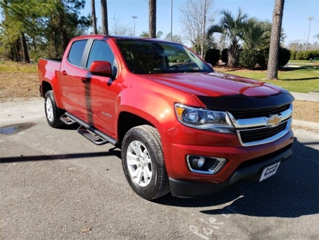 Used 2016 Chevrolet Colorado LT Truck Crew Cab ForsalenearShallotteNC